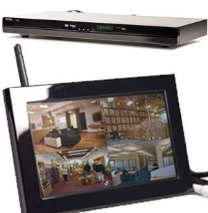Sleuthgear Dvd Player Quad Lcd