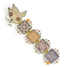 Dove of Peace Mezuzah from The Artazia Collection M1252BR