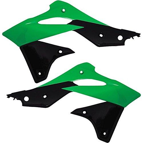 Acerbis 2314161089 Green/Black Radiator Shroud (Acerbis Radiator Shrouds Kx250f compare prices)