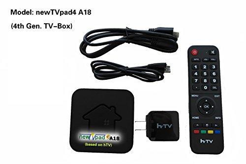 newtvpad4 a18 4th gen tvbox watch hd taiwanhongkong