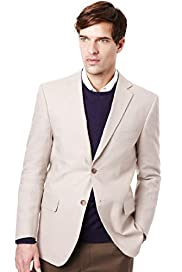 Collezione Slim Fit Linen Miracle™ 2 Button Jacket