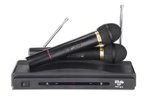 Ds18 Ds Mc-89 Dual Microphone With Wireless System
