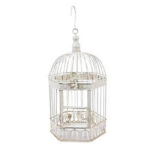 Oriental Trading Company Bird Cage, 7 X 11-Inches, White 0