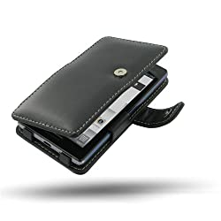 T-Mobile LG Optimus L9 Leather Case - P769 - Book Type (Black) by PDair