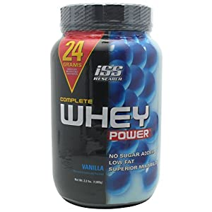 ISS Complete Whey Power Vanilla 2.2-Pound Tub