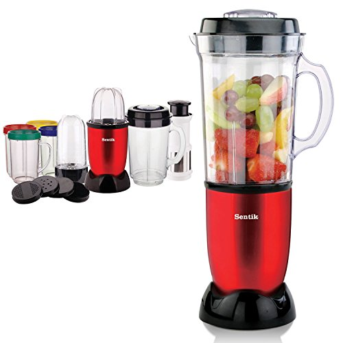 Buy Sentik 8 in 1 Multifunctional Blender Chopper Food Processor Juicer Smoothie Maker Kitchen Mixer .
