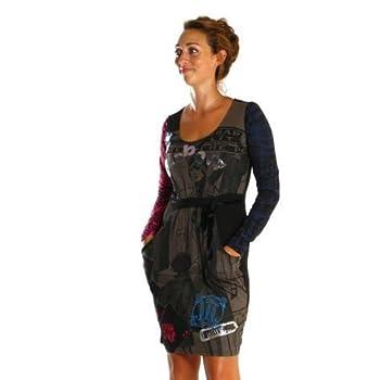 Vetements Femme Pas Cher Desigual Robe Desigual 27v2884 Piedad Negro Taille Xl