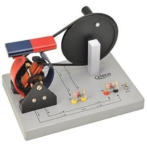 Eisco Labs Demonstration Motor Generator Activity Model (AC/DC) - Hand