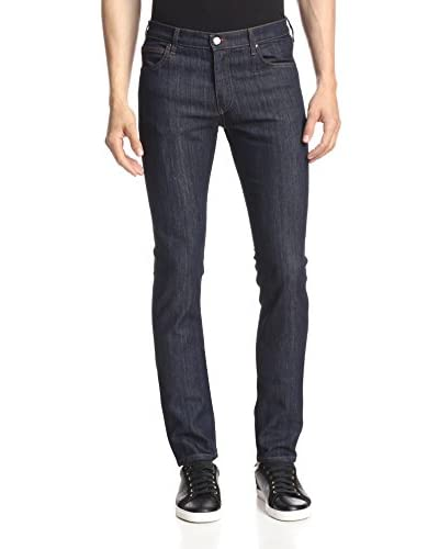 Versace Jeans Men's 5 Pocket Skinny Raw Jean