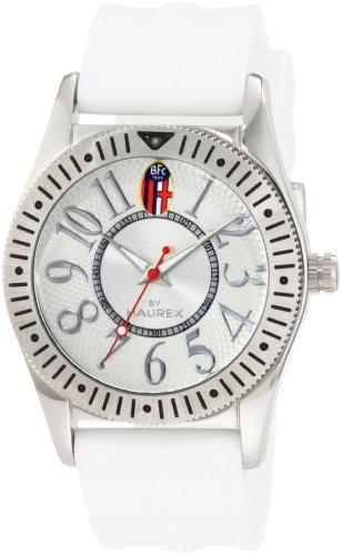 Haurex Italy BC331XSW - Reloj analógico de cuarzo para mujer con correa de caucho, color blanco
