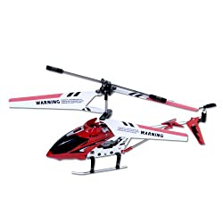 [Best price] Grown-Up Toys - Syma S107/S107G  R/C Helicopter - Red - toys-games