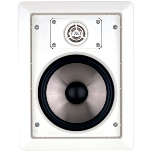 Architectural Edition Powered By JBL, Pair of 8-Inch In-Wall Speakers, AEI80