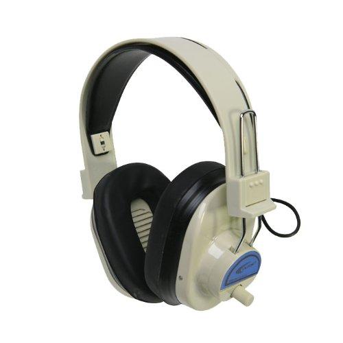 Califone Cls725 Wireless Rf Mono Headphones, Frequency Range 72.500 Mhz, Up To 100' Wireless Range