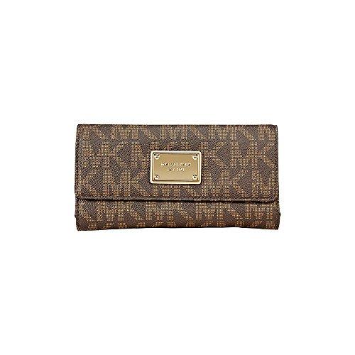 michael-kors-vanilla-pvc-checkbook-wallet-brown