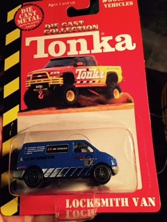 Tonka Die Cast Collection,locksmith Van