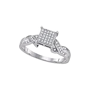 1/6 Total Carat Weight DIAMOND MICRO-PAVE RING