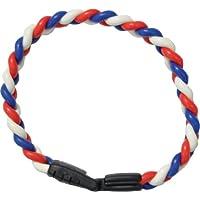[コランコラン] COLANCOLAN smart TWIST smart(ツイストスマート) ブレスレット 青赤白 Mサイズ CC-007-M
