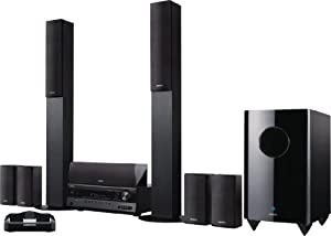 Onkyo HT-S7300 7.1-Channel Home Theater Receiver and Speaker Package with iPod Dock