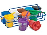 Non Spill Paint Pot Carrier & 10 Pots