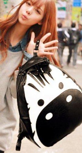 シマウマ顔 バッグ ユニーク リュック 可愛い リュックサック ゆったり 収納 アイデア商品