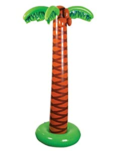 Large inflatable Palm tree - Great Pool Luau party decoration