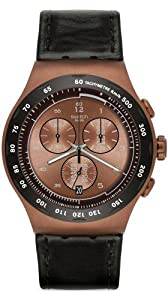 Swatch The Copper Chronograph Mens Watch YOG407