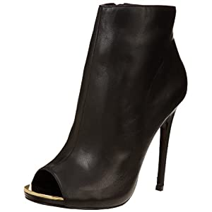 Steve Madden Women's Dianna Boot,Black Leather,7 M US