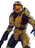 Imagenation Halo - The Master Chief - Framed Canvas Art Print : Size - 25CM X 34CM X 3CM DEPTH / 10