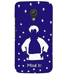 printtech Mind It Back Case Cover for Motorola Moto G2 X1068::Motorola Moto G (2nd Gen)