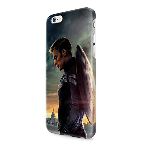 Captain America Winter Solider The Avengers Shield Superhero Hard Snap-On Protective Case Cover For Iphone 6 / Iphone 6S