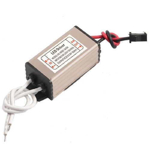 Ac 110-220V Dc 2.2-3.8V 300Ma Water Resistant Power Supply Driver For 1X1W Led Strip