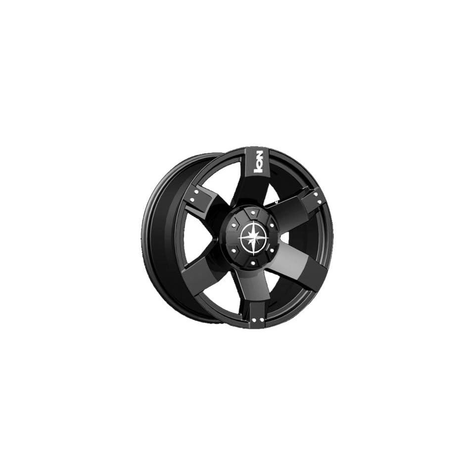 20 Inch 20x9 Ion Alloy wheels STYLE 185 Black wheels rims Automotive