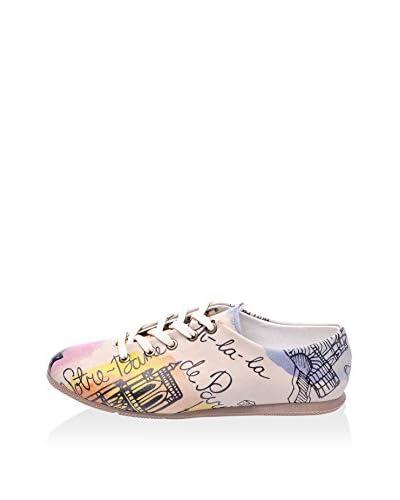 STREETFLY Zapatos de cordones Ox2023 Rosa Claro / Multicolor