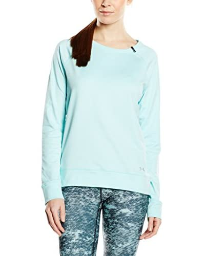 Under Armour Sudadera Coldgear Loose Crew Turquesa