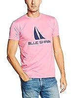 BLUE SHARK Camiseta Manga Corta (Rosa)