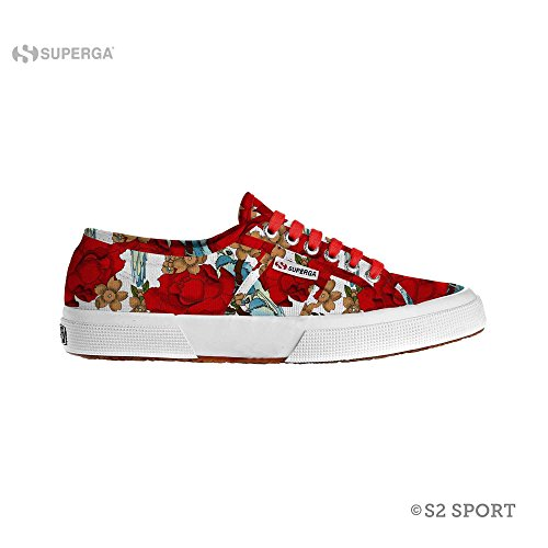 Superga 2750-FANTASY COTU - Eden Red (36)