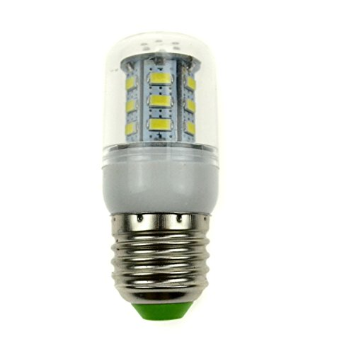 Generic E27 24 Leds 5730 Smd 5.5W Warm White 220V Corn Light With Cover