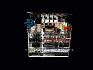 Amazon.com: Shorty Wide - Celebrity Brand Acrylic Makeup Organizer: Beauty