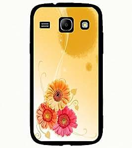 ColourCraft Flowers Design Back Case Cover for SAMSUNG GALAXY CORE I8262 / I8260