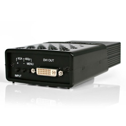 StarTech.com Composite and S-Video to DVI-D Video Converter with Scaler