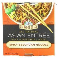 Dr. Mcdougall'S, Asian Entree, Spicy Szechuan Noodle, 2 Oz (6 Pack)