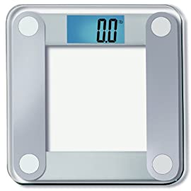 EatSmart Precision Digital Bathroom Scale w/ Extra Large Lighted Display, 400 lb. Capacity and
