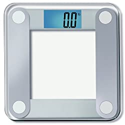 "EatSmart Precision Digital Bathroom Scale w/ Extra Large Lighted Display, 400 lb. Capacity and ""Step-On"" Technology [2013 VERSION] - 10,000+ Reviews EatSmart Guaranteed Accurate"