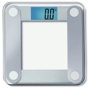 "EatSmart Precision Digital Bathroom Scale w/ Extra Large Lighted Display, 400 lb. Capacity and ""Step-On"" Technology [2014 VERSION] - 10,000+ Reviews EatSmart Guaranteed Accurate"