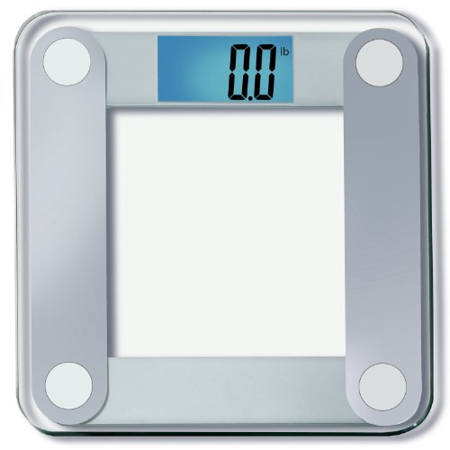 EatSmart Precision Digital Bathroom Scale w/ Extra Large Lighted Display,