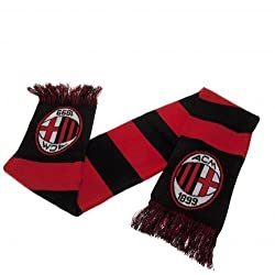 AC Milan Authentic Serie A Bar Scarf