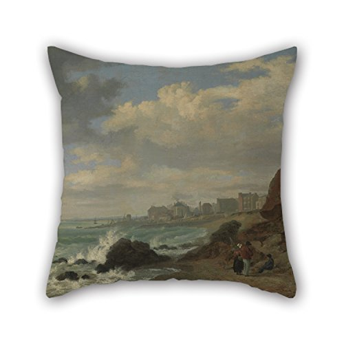 Oil Painting William Henry Stothard Scott - Brighton Pillow Cases 18 X 18 Inches / 45 By 45 Cm For