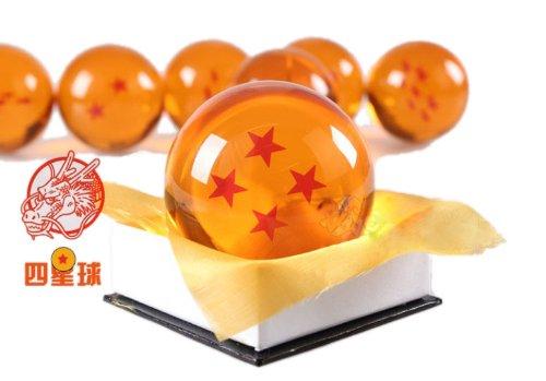ドラゴンボール(DRAGON BALL)水晶 ドラゴン 龍球 四星球 1点 クリスタル 7cm コスプレ小道具 Ruleronline