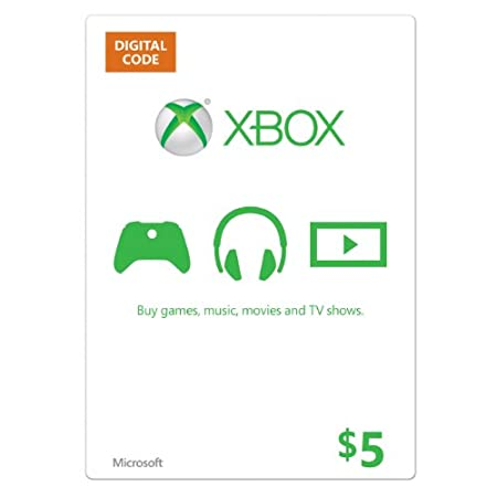 Xbox $5 Gift Card [Online Game Code]