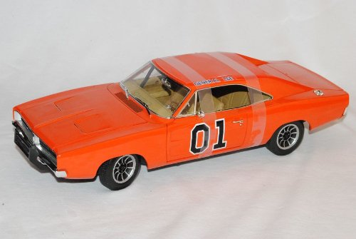 Dodge Charger 1969 Dukes of Hazzard General Lee Orange High Quality 1/18 Greenlight Modell Auto